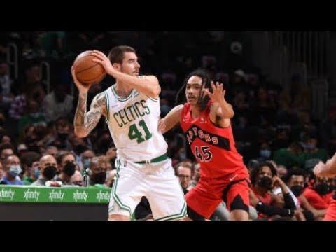 Toronto Raptors vs Boston Celtics Full Game Highlights | October 9 | 2022 NBA Preseason