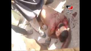 أنصار مرسي يعتدون بالضرب المبرح على نائب مأمور «الفيوم»