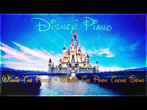 """Disney Piano - Winnie The Pooh """"Winnie The Pooh Theme Song"""" - Relaxing Piano"""