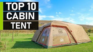 Top 10 Best Caḃin Tent for Family Camping