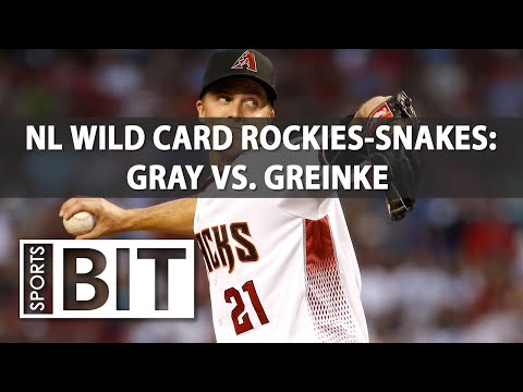 Rockies at Diamondbacks NL Wild Card Game | Sports BIT | MLB Picks