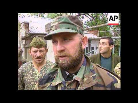 Chechnya - Troops withdraw from Grozny - 1996
