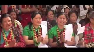 Gorkhali Thado Bhaka posed by KK Maila(Hari)