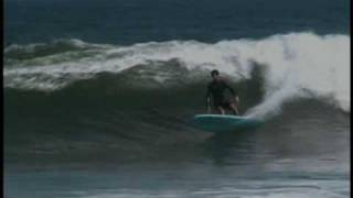 Longboard surfing...Joel Tudor from Longboard Habit Dvd...music Greg Ribot