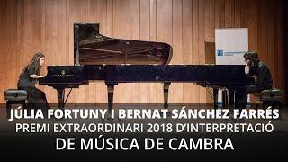 Júlia Fortuny i Bernat Sánchez - Premi Extraordinari del Conservatori Liceu 2018