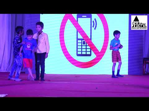 "English play on ""LIFE BEFORE AND AFTER SMARTPHONES"" By Students of Hera English School"