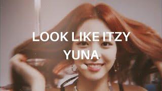 [silent] look like itzy yuna