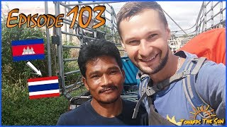 From Cambodia to Thailand. Siem Reap, Angkor Wat. Towards The Sun by Hitchhiking 103