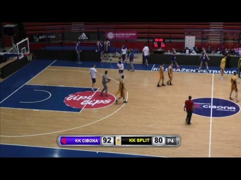 KK Cibona - KK Split (Jedinstvena kadetska liga)