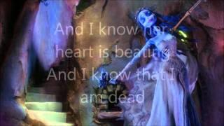 Corpse Bride - Tears to shed - lyrics