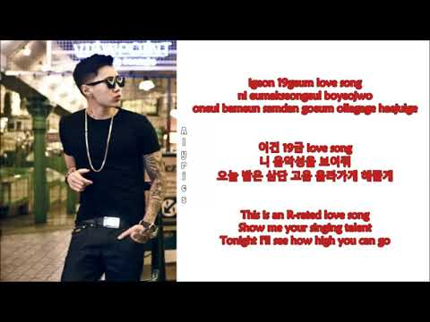 Jay Park - Welcome (Rom~Han~Eng)