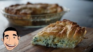 PUFF PASTRY with Spinach and Ricotta | Vegetarian Pie Recipe | Vegetarian Meal Prep