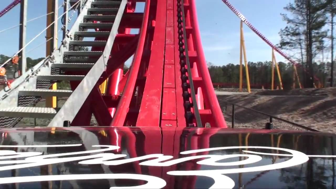 Intimidator 305 Roller Coaster HD REAL Front Seat POV