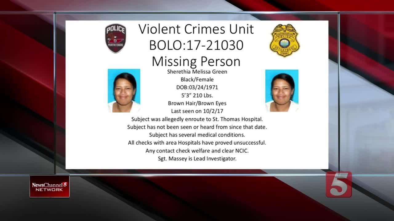 Murfreesboro Police Seek Help Finding Missing Woman