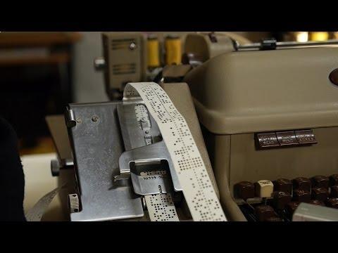 Friden Flexowriter SPD, Paper Tape driven Typewriter, Hack42 Computer Museum