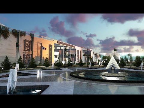 Conception d'un Palais des Congres dans la Ville Nouvelle de BOUINAN