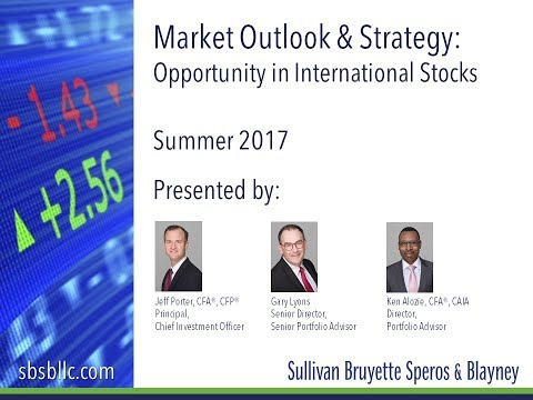 Summer 2017 Market Outlook & Strategy: Opportunity in International Stocks