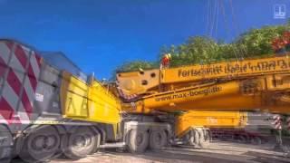 Aufbau Mobilkran LTM 11200, Creglingen