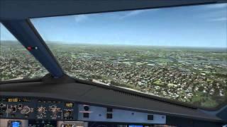 hd fsx aerosoft a320 jetstar a320 landing ybbn