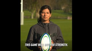 Try Rugby it will give you strength & be Unstoppable