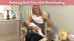 Reducing Back Pain with Breastfeeding Cradle Hold | CloudMom