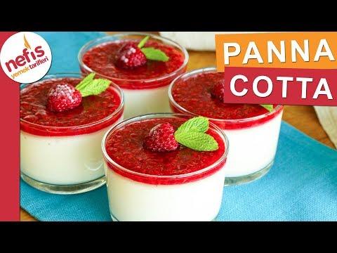 Dünyanın En Hafif Tatlısı PANNA COTTA