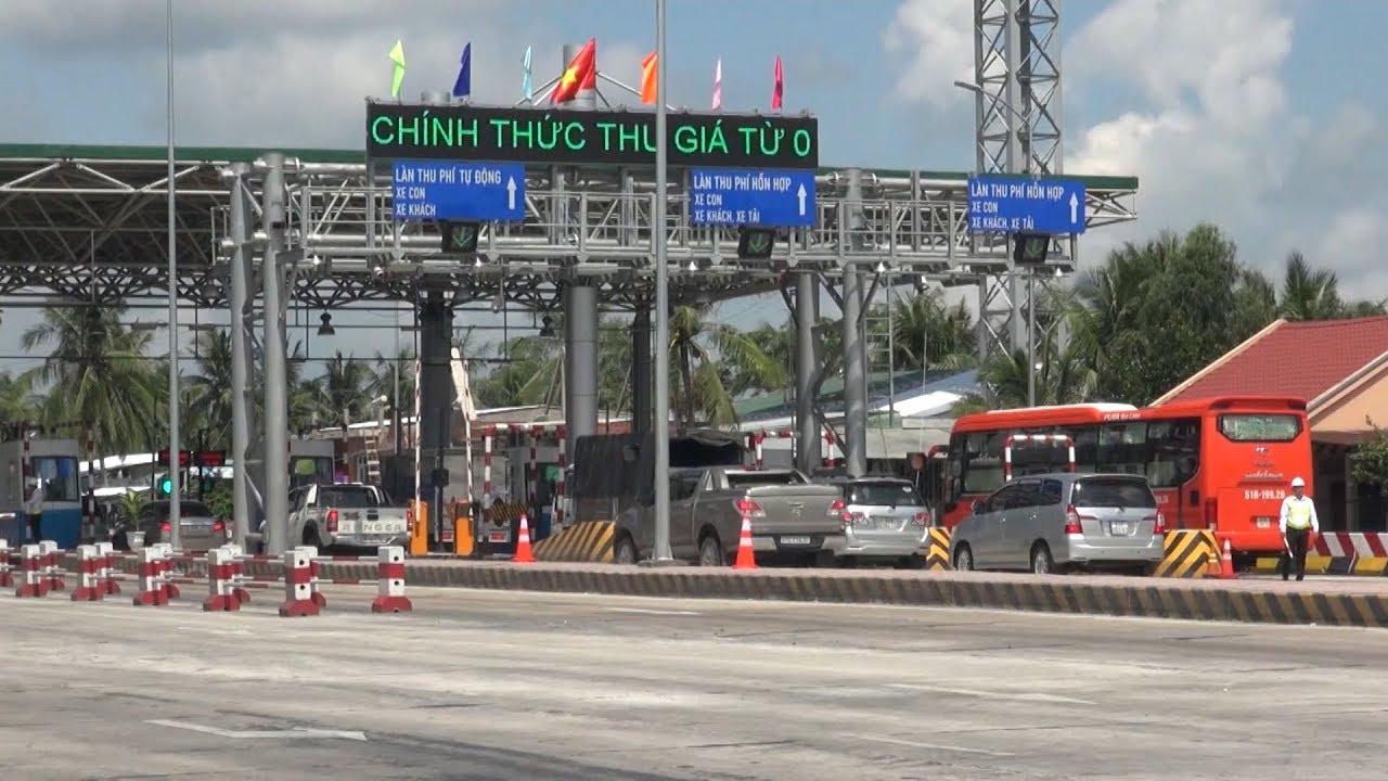 Tin Tức 24h : Tổng cục Đường bộ làm việc về những vấn đề liên quan trạm thu phí Cai Lậy, Tiền Giang