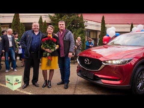 Партнер Компании One Shop World Екатерина Егорова получила в подарок Mazda CX-5!