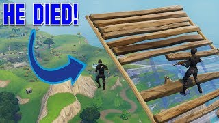Fortnite: Biggest SKY BASE FAIL Turns Into A VICTORY!
