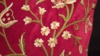 Popular Crewel embroidery & Velvet videos