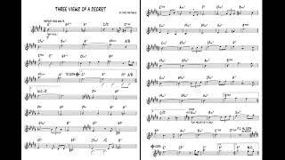 Three Views of a Secret - Jaco Pastorius - Backing Track / Play Along