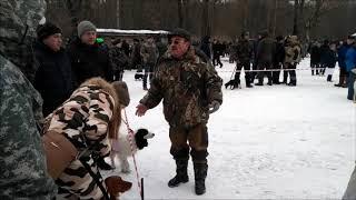 Орловская зимняя выставка охотничьих собак.