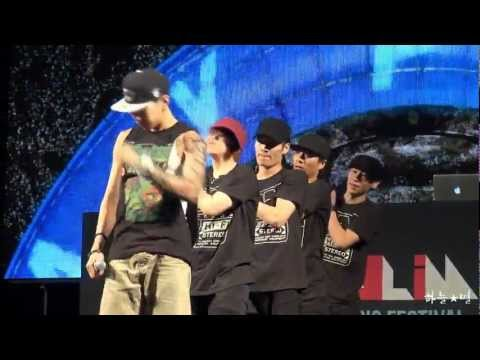 120803 Jay Park - Know Your Name @PoHang Woolim Music Festival