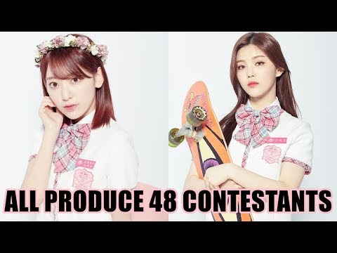 ALL 96 PRODUCE 48 CONTESTANTS | PRODUCE 48 PROFILES