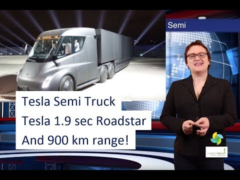 ecoTEC 28: Tesla Semi Truck AND 1.9 sec Roadster