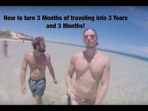 3 Years Work & Holiday Australia and New Zealand, Gopro & Drone