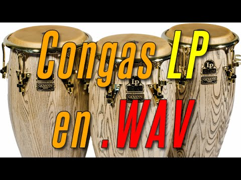 CONGAS LP en .WAV | Descarga LIBRERÍA Percusión - YouTube