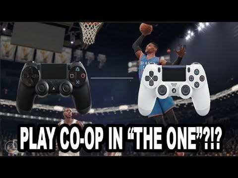NBA LIVE 18 - MULTIPLAYER AND CO-OP STORY MODE?!? PLAY WITH YOUR FRIENDS ON ONE PS4 IN