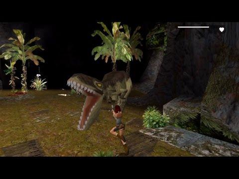 Tomb Raider 1 - Lost Valley [#3] iOS HD 1080p Walkthrough (Music OST)