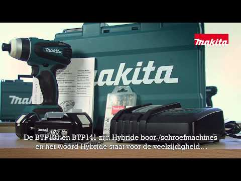 Hybride accu boor-/schroefmachine via Youtube #unboxing BTP131 en BTP141