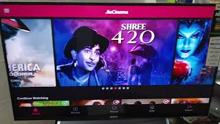 How to get Sun Nxt and Eros Now sponsored content in jio cinema app on android tv screenshot 2