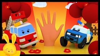 Finger Familie Deutsch Kinderlied - Reime in Deutsch - CAR - Kinderlieder zum mitsingen - Titounis
