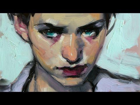 Painting a Portrait: Sabine