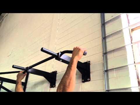 Home Gym Wall Mounted Chin Up Bar / Pull Up Bar
