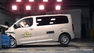 Peugeot Traveller Crash Test Euro NCAP