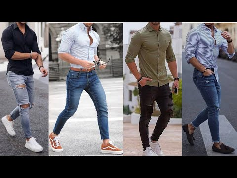 Men's Shirt with Jeans Style|Latest Shirt and Jeans Combination for Men|Men Jeans Shirt Fashion 2019 from YouTube · Duration:  4 minutes 34 seconds