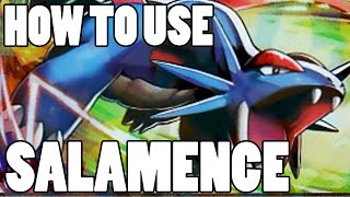 How To Use: Salamence! Salamence Strategy Guide ORAS / XY - Pseudo Sweep