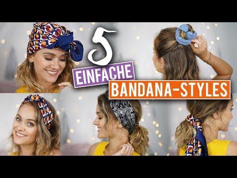 5 Bandana Frisuren Schnell Einfach Das Schafft Jeder