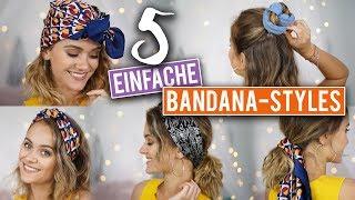 Bye Bye Bad-Hair-Day: 5 EINFACHE BANDANA FRISUREN | SNUKIEFUL