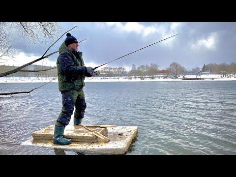 Уплыл на Плоту! Рыбалка весной на спиннинг Перед запретом